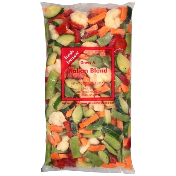 * Frozen James Farm Iqf Italian Mixed Vegetable Blend 2 Pounds