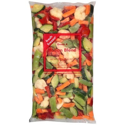 * Frozen James Farm Iqf Italian Mixed Vegetable Blend 2 Pounds