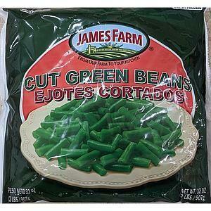* Frozen James Farm Iqf Cut Green Beans 2 Pounds
