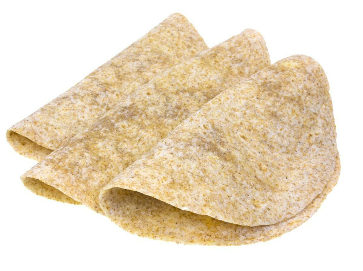 """* Chef's Quality 12"""" Whole Wheat Soft Tortillas Or Wraps 12 Count"""