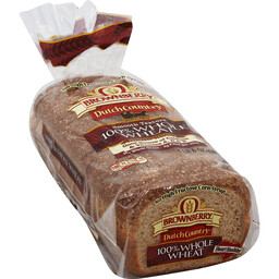 * Dutch Country Whole Wheat Club Bread 22 Slices 28 Ounces