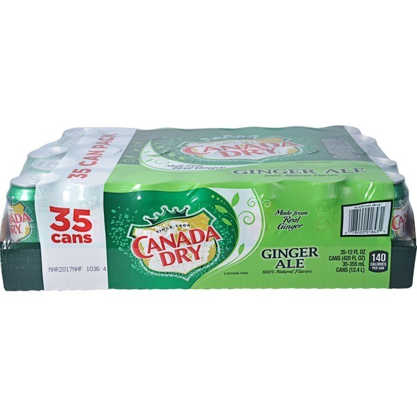 * Canada Dry Ginger Ale 35-12 Ounces