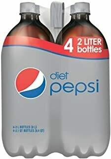 * Diet Pepsi 2 Liters (4-Pack)