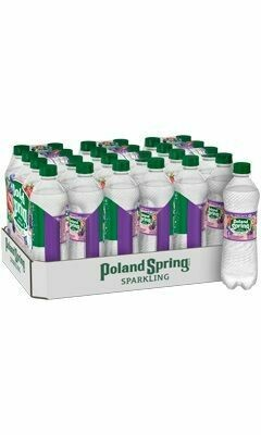 * Poland Spring Sparkling Water 24-16.9 Ounces