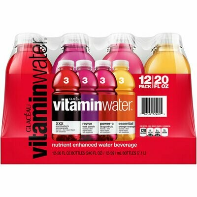 * Vitaminwater Variety Pack 12-20 Ounces