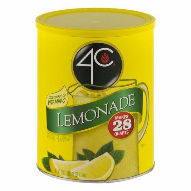 * 4C Lemonade 9 Qt