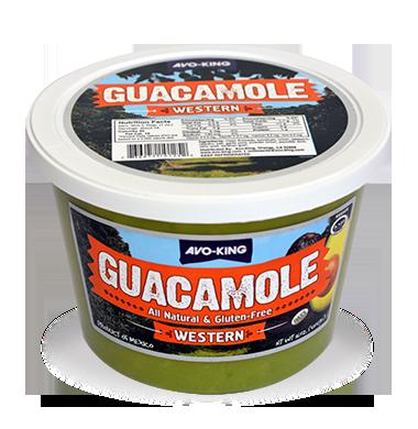 * Avo King Frozen Western Guacamole 1 Lb