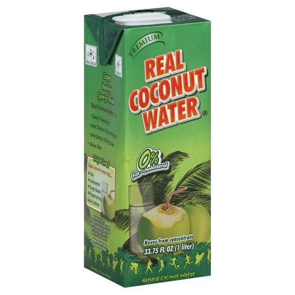 * Real Coconut Water 1 Liter