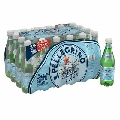 * Sanpellegrino Sparkling Natural Mineral Water 24-16.9 Ounces