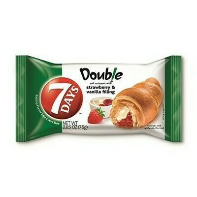 * 7Days Strawberry & Vanilla Croissant 6-2.65 Ounces