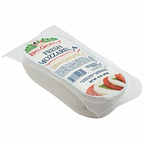 * Belgioioso Fresh Mozzarella Log 1 Lb