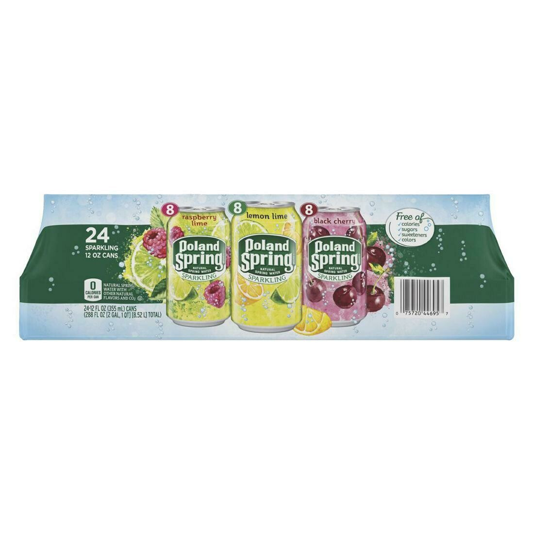 * Poland Spring Sparkling Water Variety Pack 24-12 Ounces