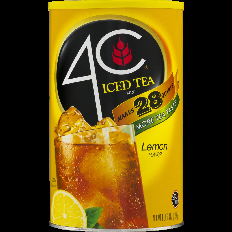 * 4C Iced Tea Mix, Lemon Makes 28 Quarts