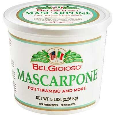 * Belgioioso Mascarpone Cheese 5 Pounds