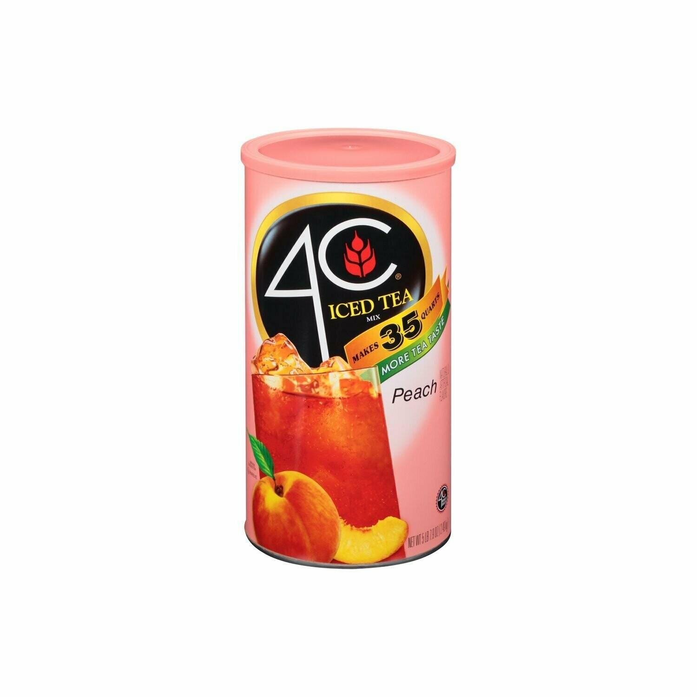 * 4C Iced Peach Tea 35 Qt