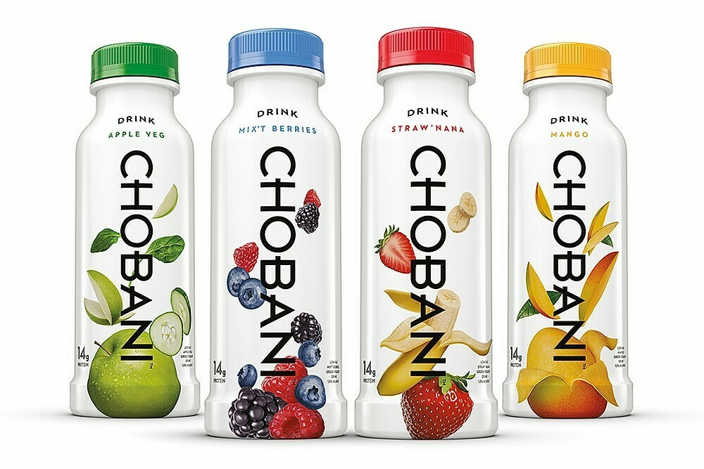 * Chobani Yogurt Drink Variety Pack 12-7 Ounces