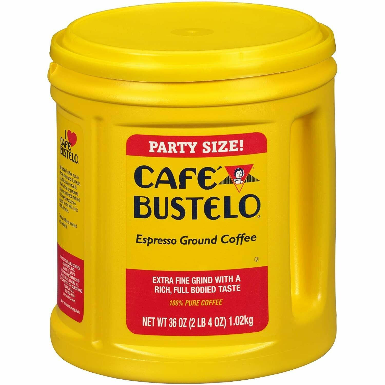 * Cafe Bustelo Ground Coffee 36 Ounces