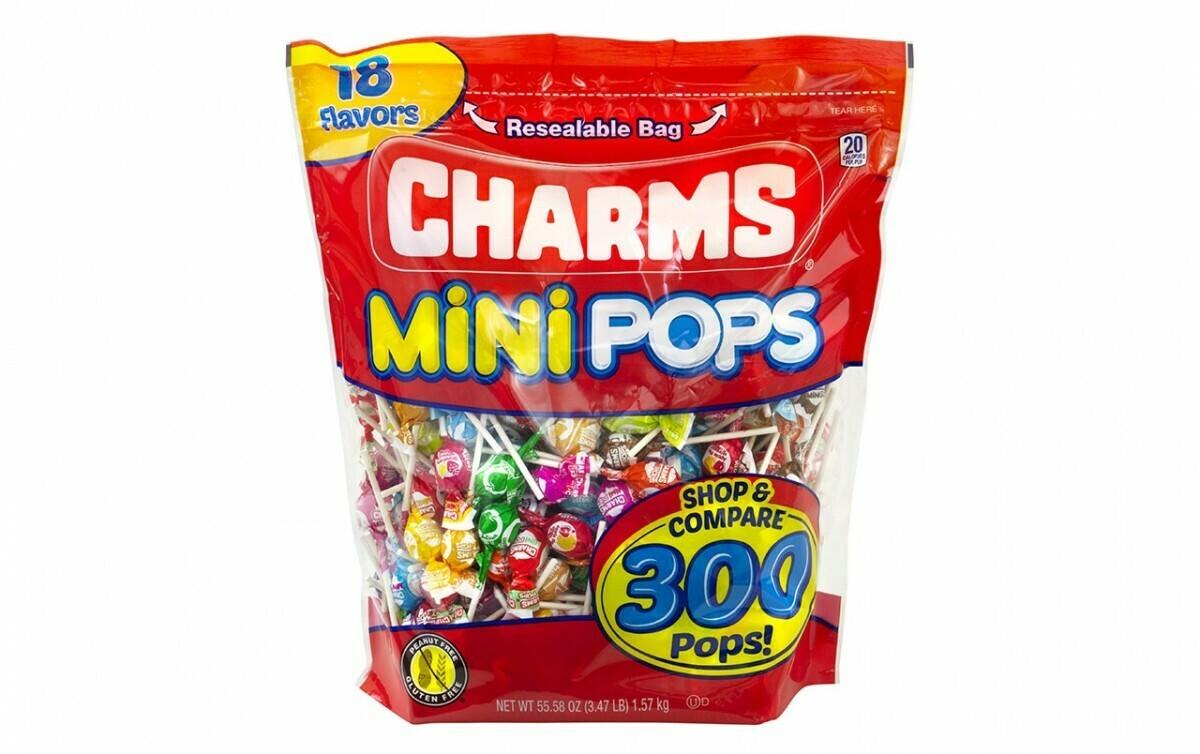 * Charms Mini Lollipops 300 Count Bag