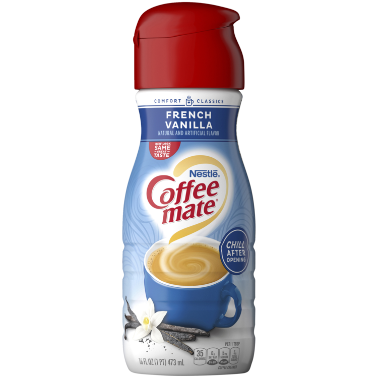 * Coffee Mate French Vanilla Creamer 16 Ounces