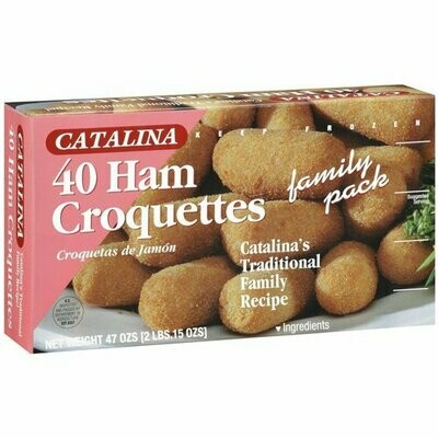 * Catalina Ham Croquette 40 Count