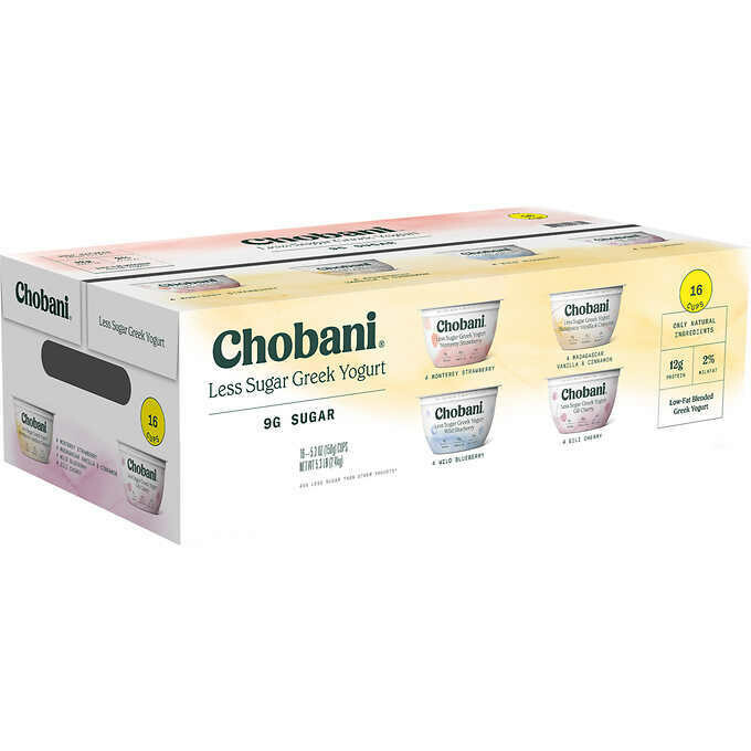 * Chobani Greek Variety Yogurt 16-5.3 Ounces