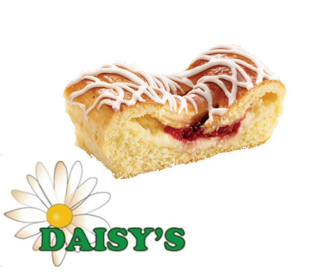 * Daisy's Bakery Cherry Cheese Danish 12-3.5 Ounces
