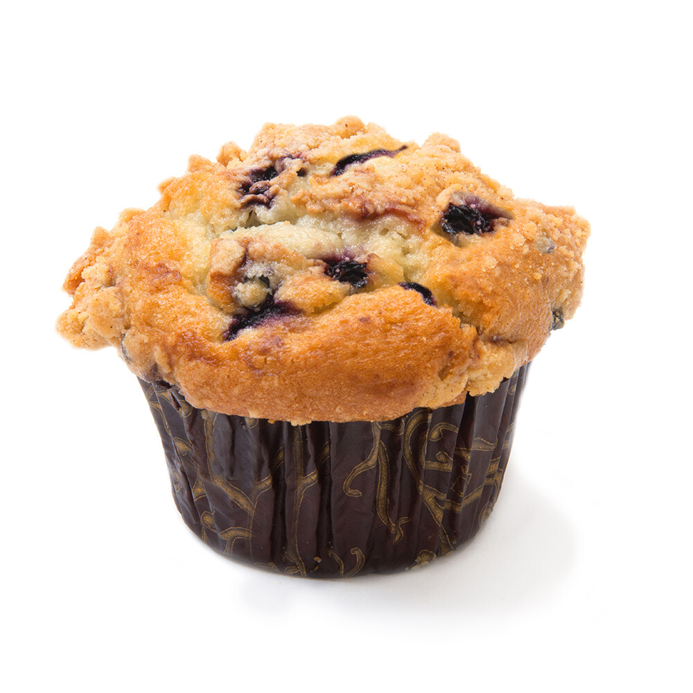 * David's Cookies Yogurt Muffins, Blueberry Crumb 12 Count
