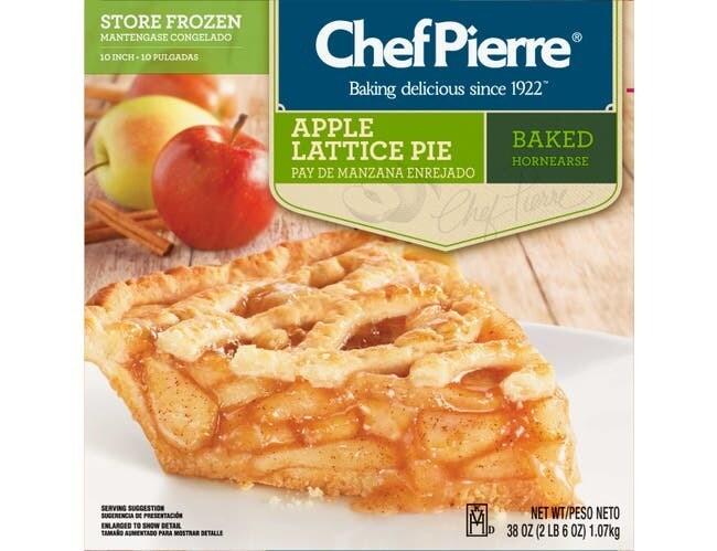 * Chef Pierre Prebaked Apple Lattice 38 Ounces