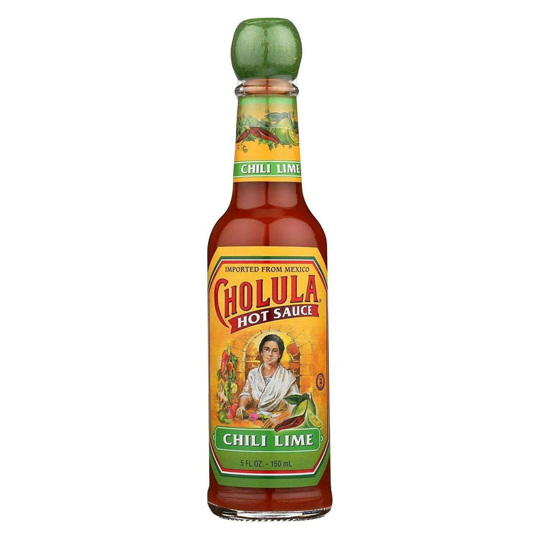 * Cholula Chili Lime Hot Sauce 5 Ounces