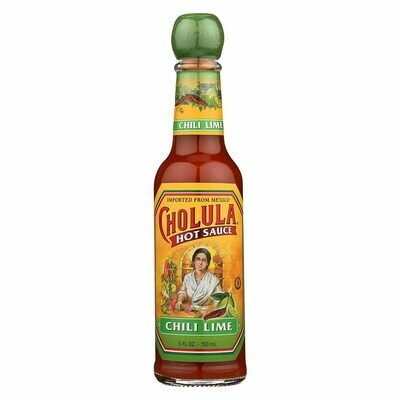 * Cholula Chili Lime Hot Sauce 5 Ounces