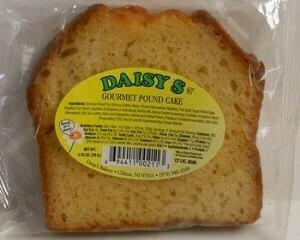 * Daisy's Bakery Individually Wrapped Original Pound Cake 12-5 Ounces