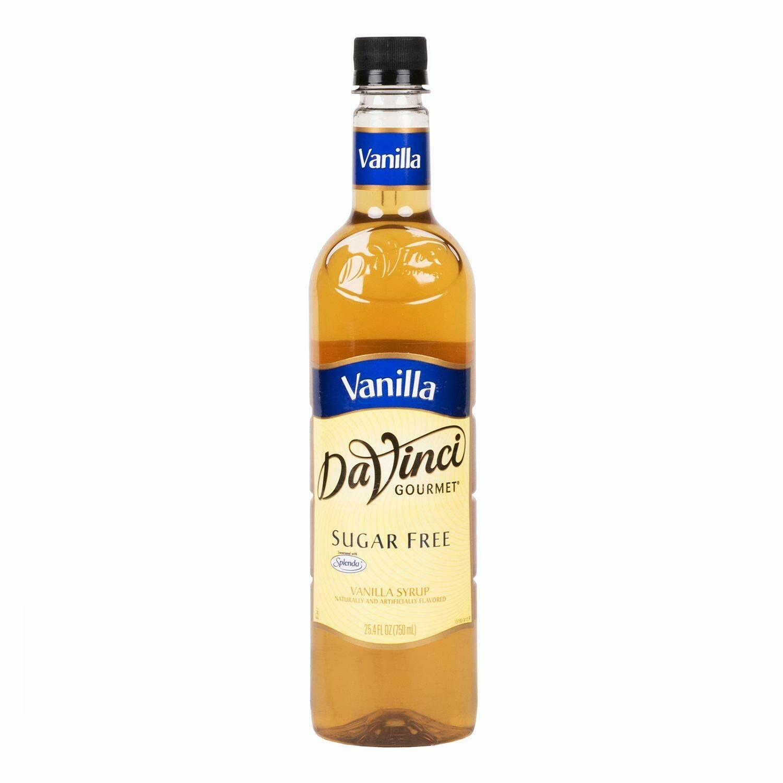* DaVinci Gourmet French Vanilla Syrup, Sugar Free 750 Ml