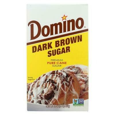* Domino Dark Brown Sugar 1 Pound
