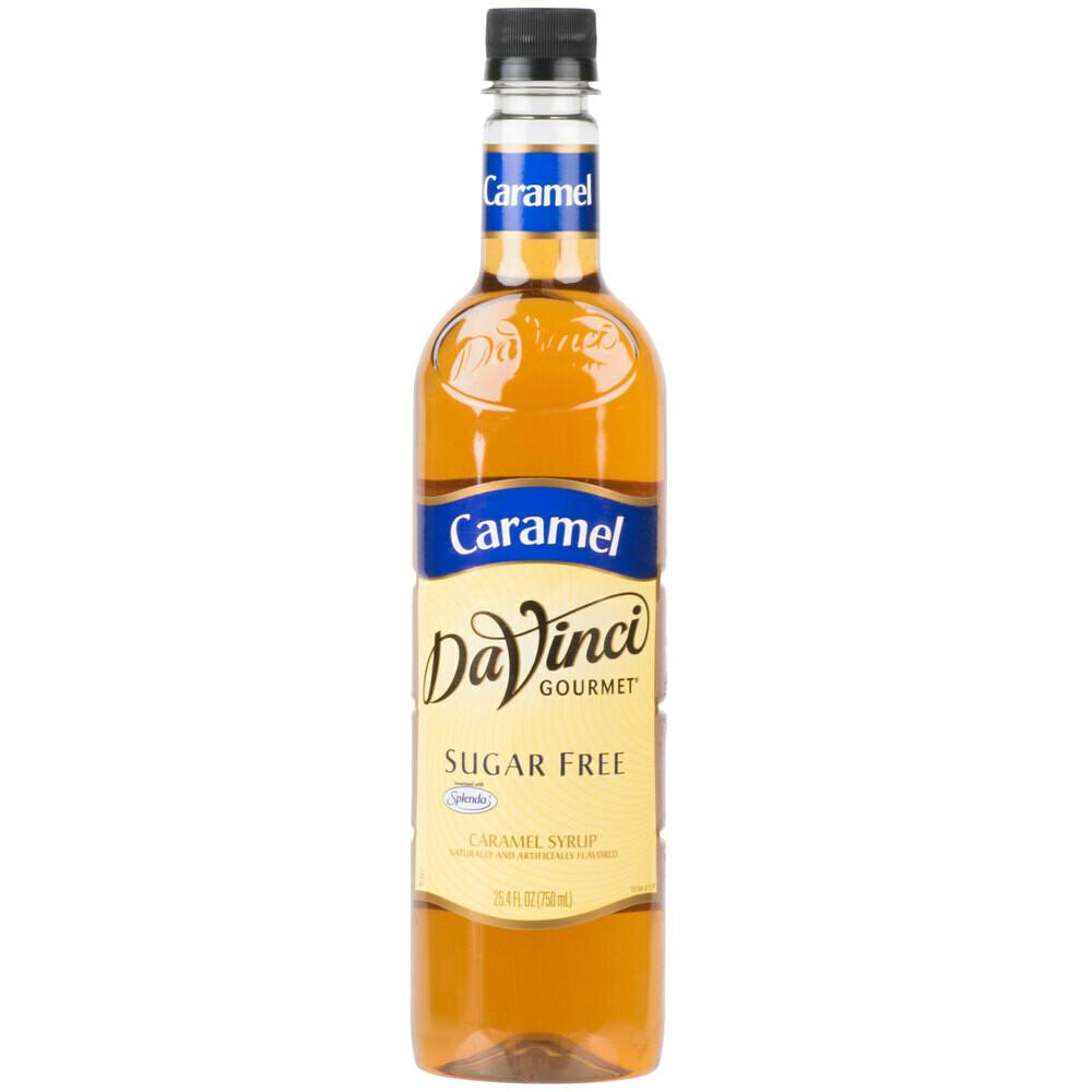 * DaVinci Gourmet Caramel Syrup 750 Ml