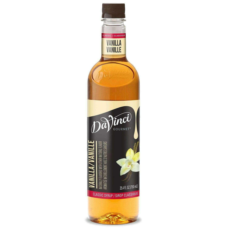 * Davinci Gourmet Vanilla Syrup 750 Ml