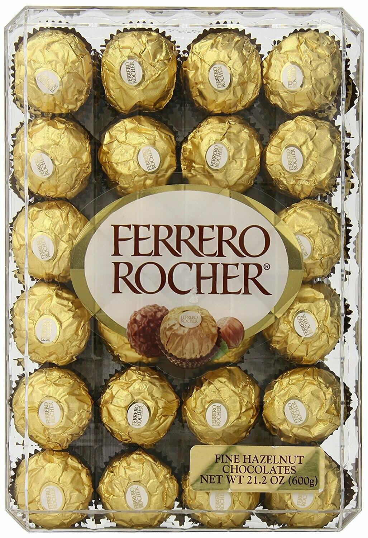 * Ferrero Rocher 48 Piece Club Pack 21 Ounces