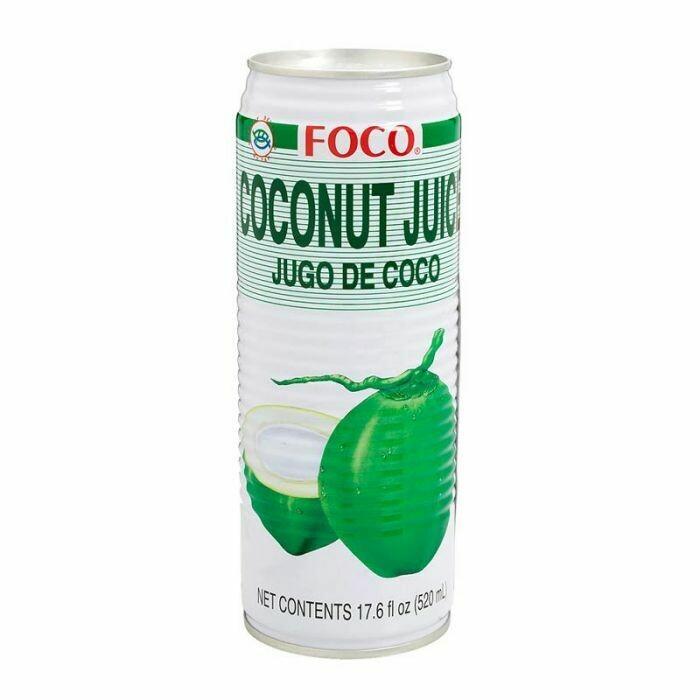 * Foco Coconut Juice 24-17.6 Ounce Cans