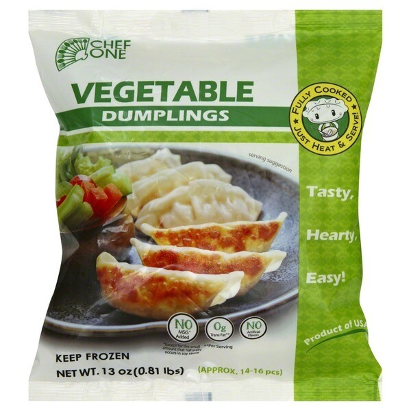 * Frozen Chef One Vegetable Potstickers 2.5 Pounds