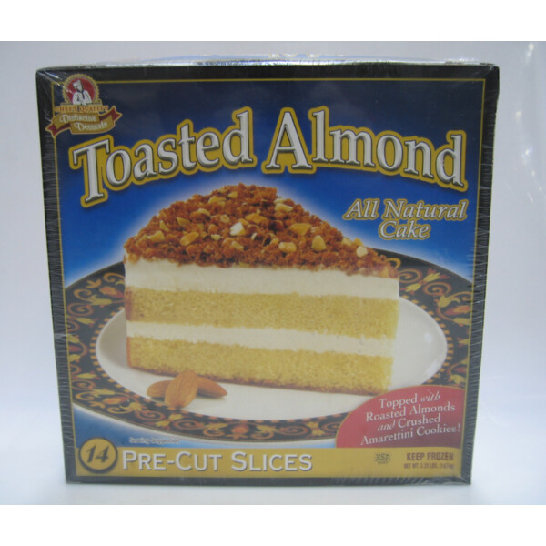 * Frozen Chef's Quality Toasted Almond Cake 14 Slices