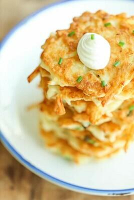 * Frozen Golden Potato Pancakes 12 Count