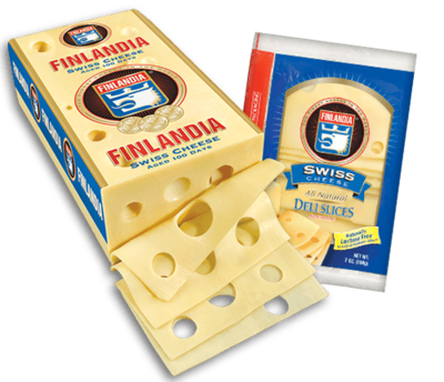 * Finlandia Sliced Swiss Cheese 1.5 Pounds