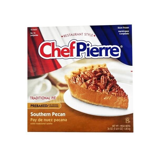 """* Frozen Chef Pierre 10"""" Pecan Pie, Pre-Baked"""