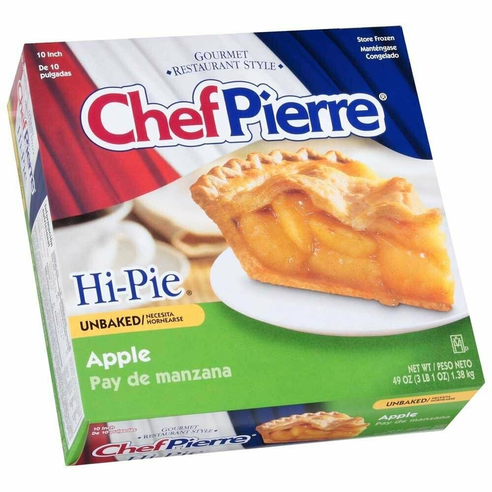 """* Frozen Chef Pierre High Apple Pie 10"""""""