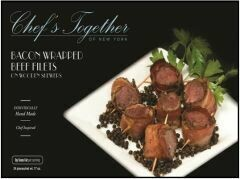 * Frozen Chef Together Bacon Wrapped Beef Fillet 24 Count