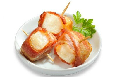 * Frozen Chef Together Bacon Wrapped Scallops 30 Count
