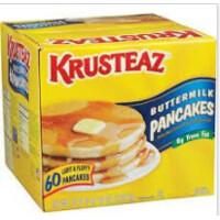 * Frozen Krusteaz-Buttermilk Pancake 60 Count