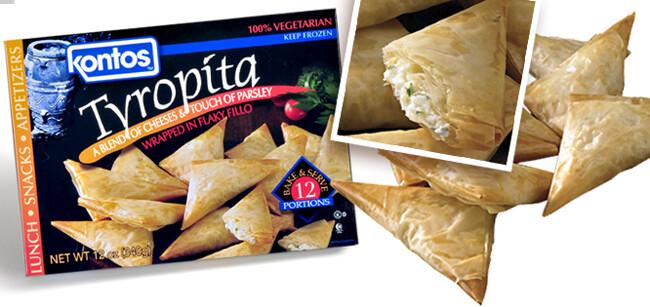 * Frozen Kontos Foods Tyropita 12 Count