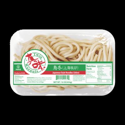 * Frozen Twin Marquis Japanese Style Udon Noodles 16 Ounces