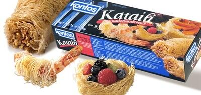 * Frozen Kontos Kataifi (Shredded Filo)1 Lb Packages