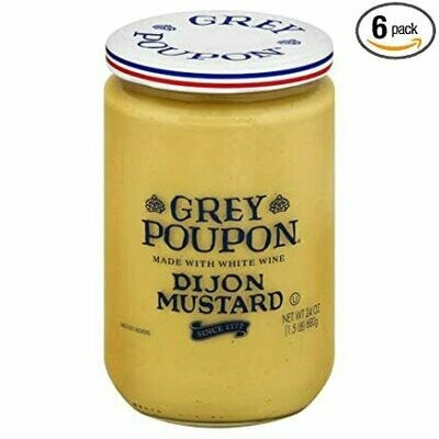 * Grey Poupon Dijon Mustard 24 Ounces
